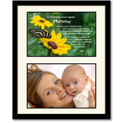 "Mommy Gift ""Our First Mother's Day Together"" From Baby Son or Daughter - Add Photo"