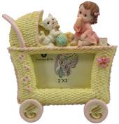 Baby Stroller Vintage Photo Frames Keepsake Baby Shower Party Gifts Home Decor US Seller