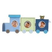 C.R. Gibson Stepping Stone Three Frame Train Picture Display