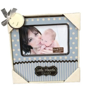 New View Baby Boy Little Miracle Frame, 20cm by 20cm Frame, Holds a 15cm by 10cm Photo