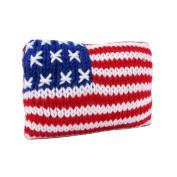Estella Baby Rattle Toy, American Flag, Multi