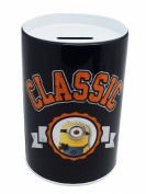 Despicable Me Navy Blue Coloured Classic Tin Coin Bank