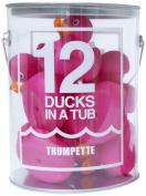 Trumpette 12 Ducks in a Tub, Fuchsia