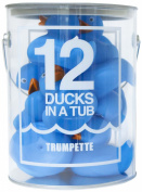 Trumpette 12 Ducks in a Tub, Blue