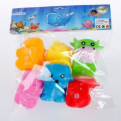 Cute Baby shower swimming toy a good tweak called playmate toys for baby swimming bathing Animal