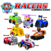 Paw Patrol Racer Complete Collection - Ryder, Marshall, Skye, Zuma, Chase, Rubble and Rocky