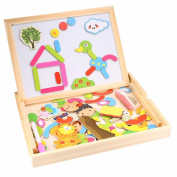 Arshiner Baby Doodle Puzzle Drawing board Fantastic Multifunctional Easel Toys Gift