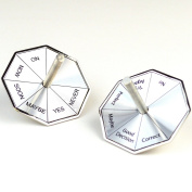 UNISHOW® Stainless Steel Spinning Top Decision Maker w/ Gift Box