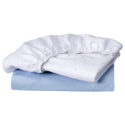Circo 100% Cotton Bassinet Fitted Sheet Set