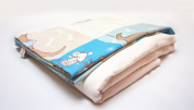 4-season Cotton Flower Toddler Blanket (Quilt + Duvet Cover)