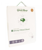 The Little Green Sheep 60 x 120 cm Organic Cot Jersey Fitted Sheet