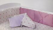Living Textiles Violet Bumper