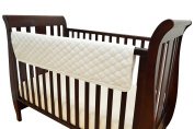 TL Care Organic Cotton Front Crib Rail Cover