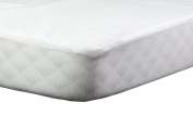 Abstract Baby Waterproof Flannel Portable Crib Mattress Protector