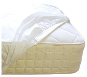 Naturepedic Organic Waterproof Fitted Stretch Knit Protector Pad - Twin