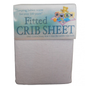 Owen Baby Crib Fitted Sheet