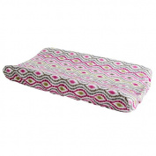 Trend Lab Waverly Jazzberry Changing Pad Cover-Dimensions