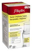 Playtex Drop-Ins Pre-Sterilised Soft Bottle Liners, 8-300ml 100 ea