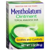Mentholatum Ointment/Topical Analgesic/Aromatic Vapours 90ml