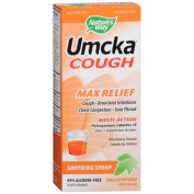 Nature's Way Umcka Soothing Syrup, Max Relief, English Ivy Base 120ml