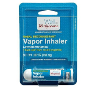 Walgreens Nasal Decongestant Vapour Inhaler 0ml