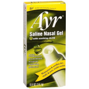 Ayr Saline Nasal Gel with Soothing Aloe 15ml
