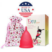Anigan EvaCup Rose - Menstrual Cup (Large) Fast Shipping