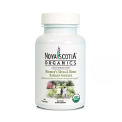 Nova Scotia Organics, Women's Mena & Meno Balance Formula, Supplement, USDA Certified Organic, 30 easy to swallow caplets