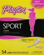 Playtex Sport Body Shape Liner Regular, 54 Count