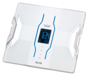 TANITA [Japan domestic manufacturers first BLE possible cooperation with the iPhone & popular iPhone app installed] and [weight 50g unit display] body composition metre inner scan dual white RD-901-WH