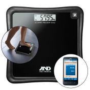 A & D Medical Precision Health Scale UC-324NFC with Wireless Smartphone Connexion