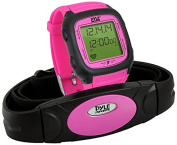 Pyle Multi-Function Speed and Distance Digital Wrist Watch/Pedometer/Calorie Counter Heart Rate Monitor