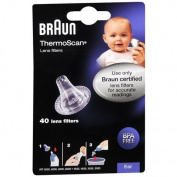 Braun ThermoScan Lens Filters 40 ea