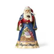 Js Hwc Fig Away in a Manger Santa