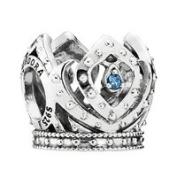 PANDORA Disney Charm Elsa's Crown 791588CZB