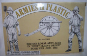 "Boer War, British Royal Artillery in ""Shirt Sleeve Order"" 1899-1902 by Armies in Plastic Offered by Classic Toy Soldiers, Inc"