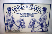 Crimean War 1854 Charge of The Light Brigade 4th Light Dragoons by Armies in Plastic Offered by Classic Toy Soldiers, Inc