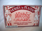 American Revolutionary War British Infantry Offered by Classic Toy Soldiers, Inc/Armies in Plastic