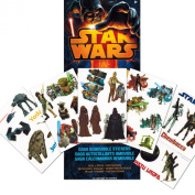 Star Wars Wall Decals ~ 110 Removable Wall Stickers