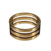 Water & Wood NEW DIY Raw Brass Jump Ring Findings Open/Close Tool For Jewellery Making 19x9mm