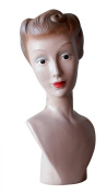 Creative Co-Op Resin Vintage Reproduction Mannequin Bust