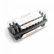 ImpressArt- Premium Newsprint Letter Stamps, Lowercase
