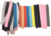 Craft Sanding Sticks 50 Assorted Nail Files with Minor Flaws in a Variety of Grits and Shapes