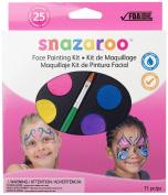 Snazaroo Face Painting Palette Kit, Girl
