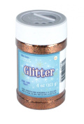 Sulyn 120ml Glitter Jar - Copper