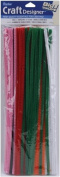 Pipe Cleaners Assorted Colours 30cm 100/Pk
