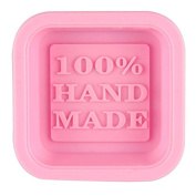 Binmer(TM)Cute Craft Art Square Silicone Oven Handmade Soap Moulds DIY Soap Mould