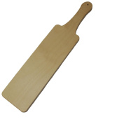 Texas Paddle - 46cm Unfinished Wooden Spanking Paddle