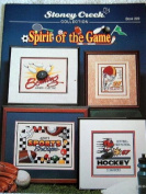 SPIRIT OF THE GAME - BOOK 220 - STONEY CREEK COLLECTION CROSS STITCH