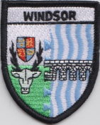 Windsor Berkshire County Embroidered Patch Badge